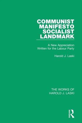 Communist Manifesto (Works of Harold J. Laski): Socialist Landmark