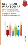 Gestionar para educar (eBook-ePub)