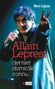 Allain Leprest, dernier domicile connu
