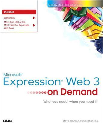Microsoft Expression Web 3 On Demand, Portable Documents
