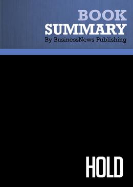 Summary : Hold - Steve Chader, Jennice Doty, Jim Mckissack and Linda Mckissack