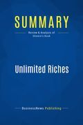 Summary : Unlimited Riches - Robert Shemin