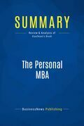 Summary : The Personal Mba - Josh Kaufman