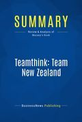 Summary : Teamthink: Team New Zealand - Pete Mazany
