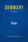 Summary : Power - Jeffrey Pfeffer