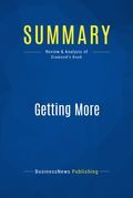 Summary : Getting More - Stuart Diamond