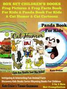 Pandas & Frogs: Intriguing Pictures & Facts On Animals In Nature: Discovery Kids Books Series - 2 in 1