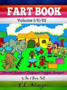 Comic Books For Boys: Fart Books For Kids: Best Graphic Novels For Kids - Vol. 1, 2, 3