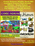 Comic Roman: Kinder Buch Mit Lustigen Comics Und Kinder Witzen - Bunte Comic Illustrationen & Audiobuch für Kinder + Hunde Bücher für Kinder: 2 In 1 F
