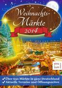 Weihnachtsmärkte 2014: Über 630 Weihnachtsmärkte in ganz Deutschland. Aktuelle Termine und Öffnungszeiten. Weihnachtsmarkt-Suche leicht gemacht: So finden Sie jeden Weihnachtsmarkt