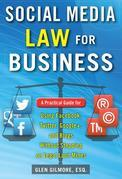 Social Media Law for Business: A Practical Guide for Using Facebook, Twitter, Google +, and Blogs Without Stepping on Legal Land Mines: A Practical Gu
