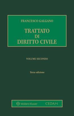 Trattato di diritto civile. Volume secondo