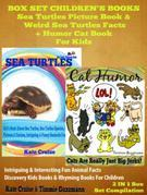 Sea Turtles & Cats: Amazing Photos & Facts - Endangered Animals: Discovery Kids Books Series - 2 in 1