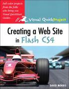 Creating a Web Site with Flash CS4: Visual QuickProject Guide