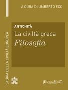 Antichità - La civiltà greca - Filosofia