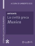 Antichità - La civiltà greca - Musica