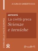Antichità - La civiltà greca - Scienze e tecniche