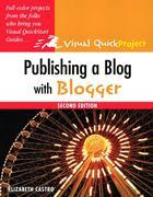 Publishing a Blog with Blogger: Visual QuickProject Guide, Adobe Reader