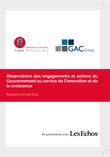 Observatoire 2014 des engagements et actions du Gouvernement au service de l'innovation et de la croissance.