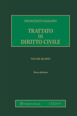 Trattato di diritto civile. Volume 4
