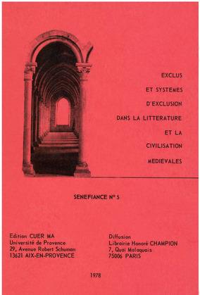 Exclus et systèmes d'exclusion dans la littérature et la civilisation médiévales