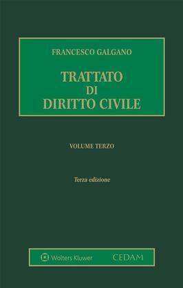 Trattato di diritto civile. Volume 3