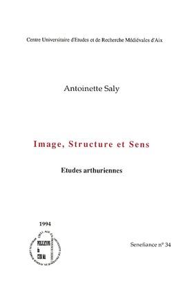 Image, structure et sens
