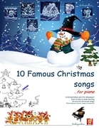Ten Famous Christmas Songs for Piano