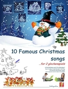 Ten Famous Christmas Songs for Two Glockenspiels
