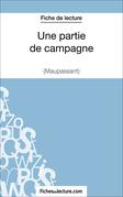Une partie de campagne de Maupassant (Fiche de lecture)