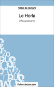 Fiche de lecture : Le Horla