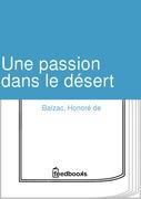 Une passion dans le désert