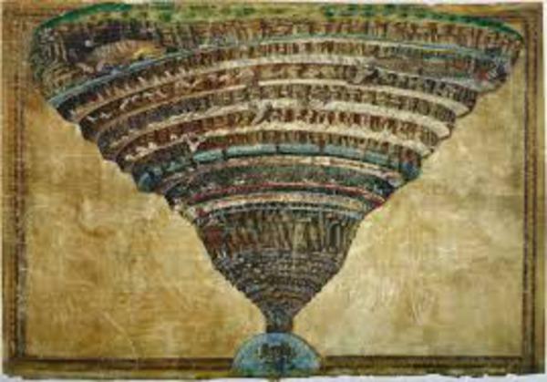 Due lezioni all'Accademia Fiorentina circa la figura, sito e grandezza dell'Inferno di Dante