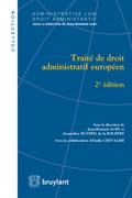 Traité de droit administratif européen