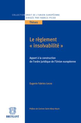 """Le règlement """"insolvabilité"""""""