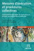 Mesures d'exécution et procédures collectives