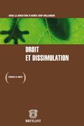 Droit et dissimulation