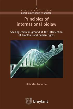 Principles of international biolaw