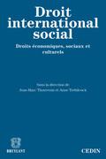 Le droit international social