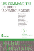 Les commandites en droit luxembourgeois