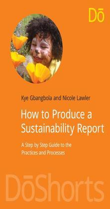 How to Produce a Sustainability Report: A Step by Step Guide to the Practices and Processes