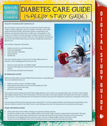 Diabetes Care Guide (Speedy Study Guide)