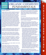 Organic Chemistry Fundamentals Study Guide