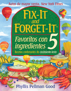 Fix-it and Forget-it Favoritos Con 5 Ingredientes