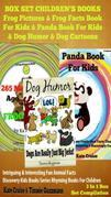 Pandas, Frogs & Dogs: Amazing Pictures & Facts On Animals: Discovery Kids Book Series + Joke Books For Kids