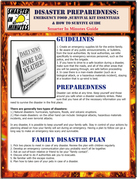 Disaster Preparedness: Emergency Food, Survival Kit Essentials & How to Survive Guide