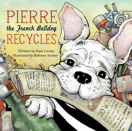 Pierre the French Bulldog Recycles