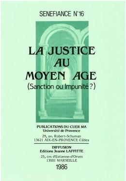 La justice au Moyen Âge