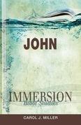 Immersion Bible Studies: John