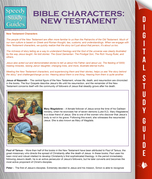 Bible Characters: New Testament (Speedy Study Guides)